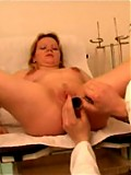 Two horny doctors get into plump mama's pinkie