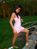 Raven Riley Get Naked In The Woods