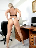 Sexy Wife At Home Getting Naughty in the Office