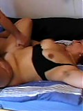 Fat mature enjoys her natural hairy bush rammed by hard cock