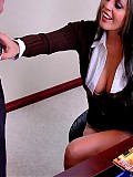 Hot and busty Mikayla getting fucked by the mailman in her office
