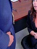 What a welcome to Penny Flame in her new job a hard boss cock up her pussy