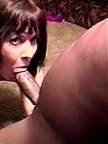Black monster cock invades this white sluts pretty mouth
