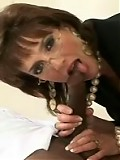 Milf blows monster cock