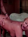 Granny gets ass pounded