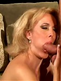 MILF hot and horny for cock sucks it for fun