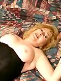 Voluptuous momma Kitty loves to swallows warm sticky jizzshot