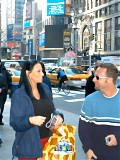 Hot brunette milf from nyc gets picked up in times square and nailed
