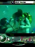 Amazing movies of hot milf getting fucked underwater with cumshot