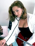 Nurse Venus gives her black patient special treatment