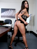 Hot latina with great body fucks a married man