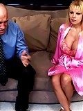 Lucky young stud gets to fuck this hot blonde as fuck MILF