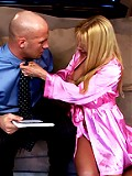 Hot older blonde gets fucked by a younger guy