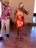 Hot blonde MILF gets boned by a young guy