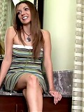 Lustful lacey sits and chats it up with anilos.com