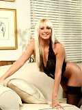 Gorgeous blonde anilos receives an experienced tongue lashing