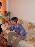 Dirty mom is seduced by a younger lover
