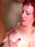 This horny housewife wants a cock between her tits