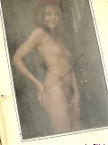 Andi Pink gets the door totally naked