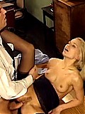 Blonde Office Slut Screwing Her Boss After Work