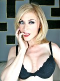 Nina Hartley takes her big dick home and fucks it hard
