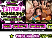 Cat Fight Gangbang