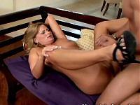 Becca Blossoms is stunned. All she can do is whimper. S..