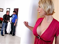Brianna's son is being harassed by someone that lent him money. When the guy comes to the house threatening to beat him up, Brianna bails the son out with a different kind of payment method.