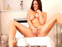 Brunette Anilos fuck bunny Rebekah Dee is drop dead gorgeous! From her huge tits to her long silky legs and everything in between! Watch this mysterious woman as she brings her hairy pussy to orgasm in her naughty videos!