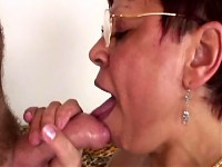 Granny Has Oral Skills