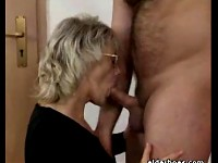 Orgy of guys fucking kinky grannies