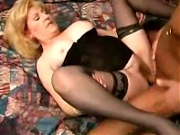 Milf enjoys sucking cock and gets getting her pussy fucked hard