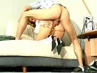 Susanna&Mike awesome anal pantyhose video