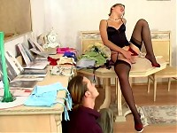 Sophia&Mike red hot nylon action