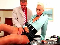 Boss Fucks His Blond Secretary
