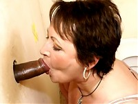 This big titted mature slut gets a mouth full of cum