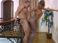 Nora&Nicholas nasty pantyhose video