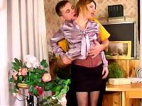 Alice&Peter hot pantyhose movie
