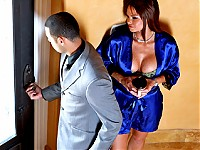 When Rhylee finds her husband's packed suitcase hidden in the bedroom, she thinks she is going to get a surprise weekend getaway. However, Rhylee finds out that the trip is for her husband and his mistress when she interrogates her husband's assistant. Her only way to get revenge, is to fuck the assistant.
