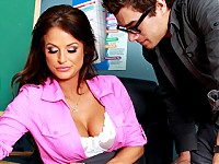 Xander is a great student. He aces almost every exam that he writes, there's only one subject he just can't quite grasp. Brooke knows that all students should be well rounded, so when Xander fails his Sex Education exam, she knows the only way that he'll start getting better grades again is if he studies harder. But instead of telling him that, she has sex with him.