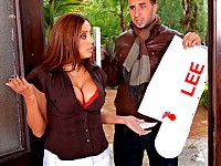 Francesca's receives a visit from her angry neighbour, ..