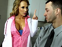 Criss is suffering a rare condition, he is daydreaming with this hot, sexy woman always dressing in blue underwear. The problem is that he passes out right after. He schedules an appointment with Dr. Nikki who is the incarnation of the woman in his fantasies. So Dr. Nikki decides that the only solution is to make his dreams come true.