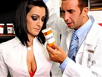 "Presley is a very busy doctor with no time for a personal life. She has been secretly writing herself prescriptions for a new kind of ""sexual enhancer"". Keiran, the pharmacist, catches on to Presley's little plan and confronts her. She tells him about the pills and what they can do so they both take some have a very intense sexual experience."