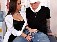 Dominick is cruising the town, when he unsuspectedly gets rear-ended by Rachel. When they meet later in the hospital Dominick is stunned to find out that his doctor is non other than the same girl who put him there! Upon threats to sue her, she subdues and convinces him that there are better ways to resolve conflicts...