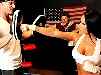 Jenaveve is a two time Boxing champ was forced to retir..