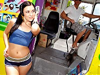 A young athletic lady by the name Ashli Orion is enjoyi..