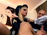 Hot police woman