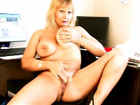 Housewife Amateur Anilos Alex posing and teasing her  m..
