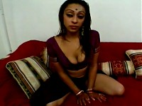 Ravishing Indian babe showered with hot jizz
