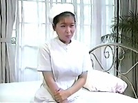 Japanese young nurse bares all